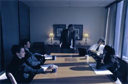 Executive communication skills coaching in the areas of securing buy-in at key meetings